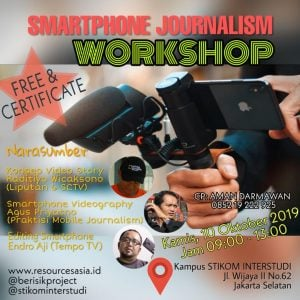 Workshop  Jurnalis Era Digital 4.0.#