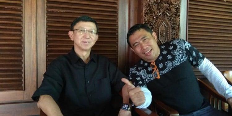Benny Suherman, sang pelopor inovasi bioskop di Indonesia bersama S.S Budi Raharjo, CEO Majalah eksekutif/Pemred Matra.