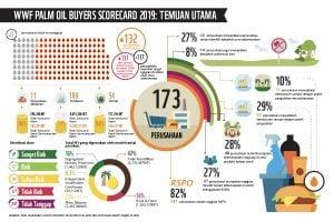 Palm Oil Score Card Infografis