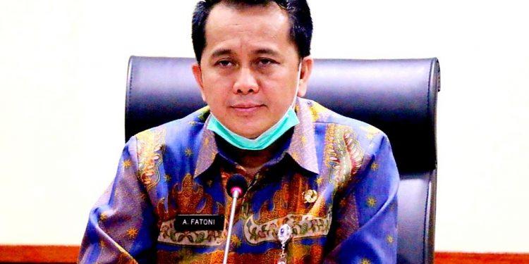 Dr. Agus Fatoni, M.Si. yang juga Plt. Kepala Badan Penelitian dan Pengembangan Kementerian Dalam Negeri.