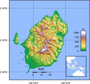 Morotai_Topography