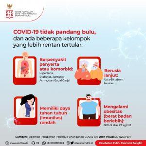 Siapa Saja yang Berisiko Tinggi Terkena COVID-191