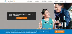 Tampilan Website Resmi Cermati.com