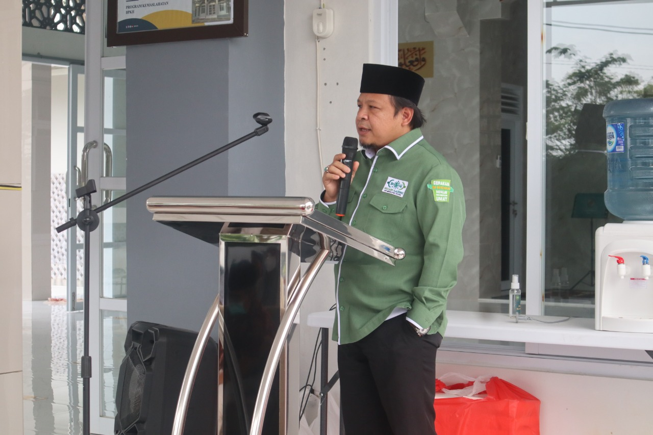 Ketua NU Care LAZISNU M. Wahib Emha